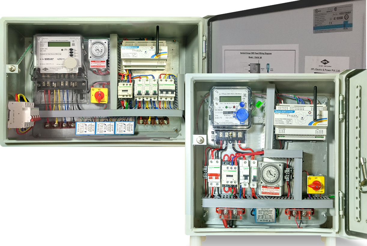 Group Control & Monitoring System