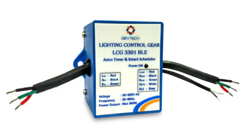 Lighting control gear 3301 Bluetooth Based (LCG3301 BLE)